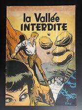 Album broché  La vallée Interdite L'épervier bleu Sirius EO 1954 BE +