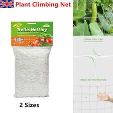 UK Polyester Garden Plant Grow Fence Net Trellis Netting Support Climbing Net