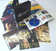 THE DOORS - SINGLES BOX ; Rare Japanese-only 14-CD Single Box Set - New with sli