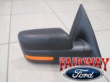 11 thru 14 F-150 OEM Genuine Ford Heated Signal RH Passenger Mirror PAINTABLE