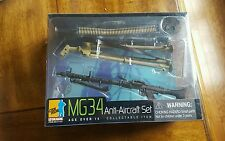 """DRAGON 1/6 SCALE MG34 ANTI AIRCRAFT WEAPON SET #71127 FOR 12"""" FIGURES BBI DID #2"""