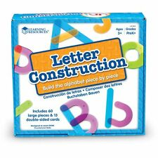 Learning Resources Letter Construction Activity Set - Lrn8555
