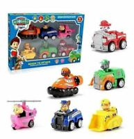 Racer Car Paw Patrol Dog 6PCS Marshall Rubble Rocky Chase Skye Kids Gift Xmas SS
