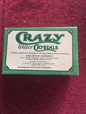 Tx History Crazy Water Plant Mineral Wells Texas Advertising Box Crazy Crystals
