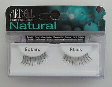 (LOT OF 72) Ardell Natural BABIES False Lashes Authentic Ardell Eyelashes Black