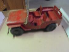 Vintage Tin Marx Willys Jeep