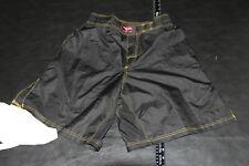 Kanku Black Mma Fight Gear Shorts Wrestling Grappling Size 30