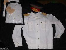 39-45 Original DDR General - Sommer Parade - Uniform Hemd Bluse weiss NVA Stasi