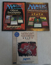 Magic: The Gathering Encyclopedia Vol. 1 & 2 and Magic: The Puzzling Books