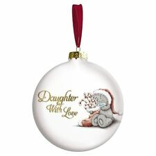 Me to You Daughter Bauble Gift Christmas Tree Decoration Xmas - Tatty Teddy
