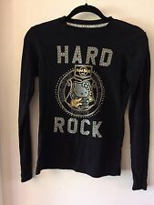 Hard Rock Hello Kitty Tokyo Limited Edition Size Small Long Sleeve Shirt