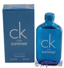Ck One Summer 2018 By Calvin Klein 3.3/3.4oz. Edt Spray New In Box