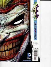 DC Comics Batman Death of the Family Dec 2012 NM 9.4