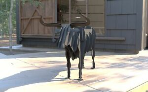 Bull BBQ, Flower Stand - DXF Files for CNC Laser or Plasma Cutter - Animal BBQ
