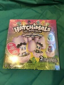 NEW Hatchimals Colleggtibles Hatchy Matchy Game with 2 Exclusive Figures 3+ /NIB