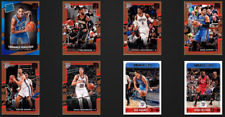 8 Cards Lot 2017-18 Oklahoma City Thunder Paul George Russell Westbrook +RC More