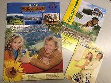 Kathrin & Peter Fanzeitung mit Poster  + Autogrammkarte + 2 x Autogramm Schlager