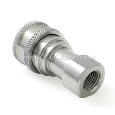 Stainless Steel Female Connect Coupler 1/4 Carpet Cleaning Wand Valve Truckmount