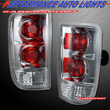 95-05 CHEVY BLAZER JIMMY 96-01 BRAVADA ALTEZZA STYLE CHROME TAIL LIGHTS PAIR