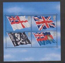 GB 2001 Flags & Ensigns Mini SHEET MNH SG: MS2206