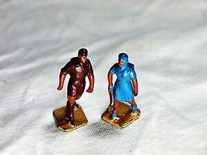 Vintage Barclay Metal lead 2 Hiker Figures
