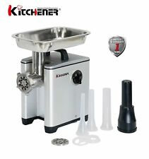 KITCHENER #8 Elite Heavy Duty Pro Electrical Meat Grinder 1/2 HP Aluminum Pro...