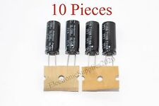10 Pieces Capacitor Rubycon 1200uF 16v 105C 10x23mm. Radial. US Seller