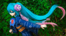 VOCALOD Hatsune Miku Cosplay Bunches Hair Wig Fit for 1/3 BJD Doll Limit Sa