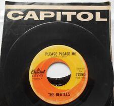 THE BEATLES Please Please Me CANADA 1963 1st Press (NO DASH) CAPITOL 45