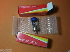 ((2)) Sylvania GTE CAR 150W 120V Projector Lamp Blue Dot Avg 15 hrs. NOS