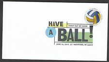 US 5204 Have a Ball Volleyball DCP FDC 2017