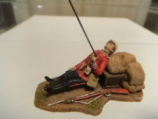 zulu wars  54mm   wounded 24th foot  54mm metal