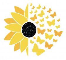 Sunflower Vinyl Decal