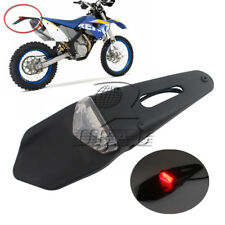 Rear Fender Brake Tail LED Light For Motorbike Enduro Trail DRZ400 Clear Custom