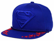 Superman DC Comics Men's Super Star Snapback Hat Cap - Blue