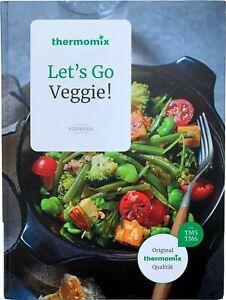 Kochbuch Vorwerk LET'S GO VEGGIE! Rezepte thermomix vegetarisch kochen TM5 TM6