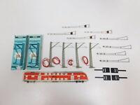 CG836-0,5# 2x Märklin H0 Oberleitungsgarnitur (K-Gleis) für Signale sehr gut+OVP