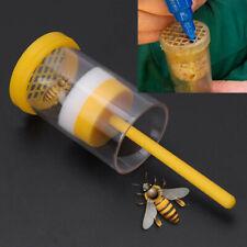 Beekeeper Queen Bee Marking Cage Marker Plunger Bottle Beekeeping Tools AU