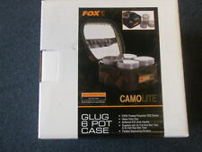 Fox Camolite Glug 6 Pot Case Carp fishing tackle