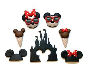 Disney Vacation Mickey & Minnie Buttons Dress It Up Embellishment Collection
