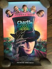 Danny Elfman Signed Charlie and The Chocolate Factory Poster