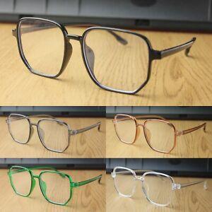 Large Clear Lens Glasses Women's Men's Fashion Glasses