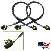 2x 36 Inch 3 ft AMP HID Extension Wire For Ballast Xenon Bulbs High Voltage Use