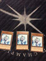 YUGIOH 3X EFFECT VEILER COMMON SDPL-EN017 PLAYSET! HOT! MULTIPLE AVAILABLE!