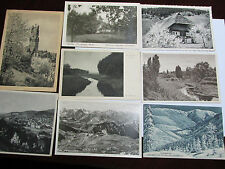 Lot of 8 Antique to Vintage ca 1920s Postcards Various German Scenes Germany