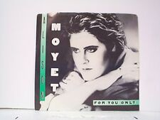 "ALISON MOYET ""FOR YOU ONLY / MONEY MILE"" 45w/PS MINT"