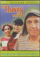 DVD - El Chavo Del 8 Presenta Lo Mejor De Los Ninos De La Vecindad - BRAND NEW