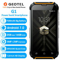 "5.0"" Unlocked 3G Rugged Android Smartphone Mobile Waterproof Dual SIM Geotel G1"