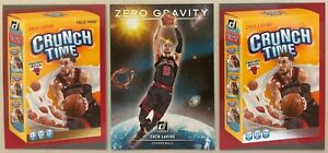 2020-21 Donruss Crunch Time Press Proof, Base, Zero Gravity - Zach LaVine