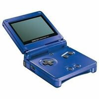 Original Nintendo GameBoy Advance SP System Cobalt Blue w/Charger